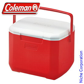 コールマン エクスカーションクーラー/16QT (レッド/ホワイト) 2000027860 クーラー ボックス キャンプ用品