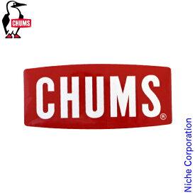チャムス ステッカー チャムスロゴ ミディアム CH62-1071-0000-00 キャンプ用品