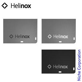 ヘリノックス ロゴステッカー S Helinox キャンプ シール ロゴ アウトドア
