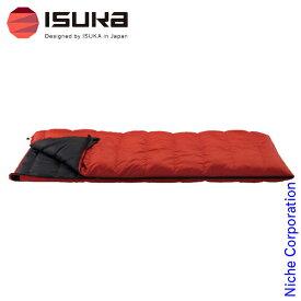 イスカ シュラフ ダウンプラス レクタ 500 山登り アウトドア 寝袋 封筒型 登山 山岳 来客用 布団セット 新生活