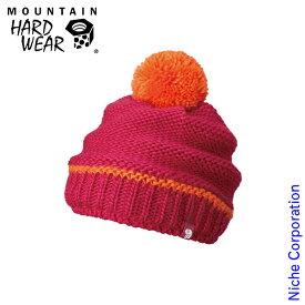 マウンテンハードウェア ウィメンズ スイートライドビーニー (Haute Pink Rサイズ) OL6873-627 ニット帽 登山用品 レディース 秋冬