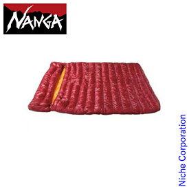 ナンガ シュラフ ラバイマバッグ W 400 NS-RABA400 レッド 封筒型 ダウン キャンプ用品 RABAIMA BAG NANGA