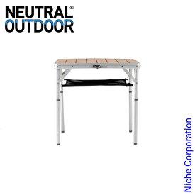 ニュートラルアウトドア バンブーテーブル M2 31453 テーブル 折りたたみ ファミリー キャンプ用品 アウトドア用品