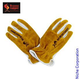 オレゴニアンキャンパー Cowhide Backskin Glove TAN OCG-701 キャンプ用品