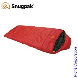 スナグパック スリーパーエクスペディション スクエア ライトジップ レッド SP25021RD アウトドア シュラフ キャンプ 寝袋 Snugpak