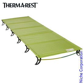 サーマレスト ラグジュアリーライト ウルトラライトコット (レギュラー) アウトドア用品 簡易ベッド 折り畳み 30535