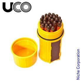 UCO ( ユーコ ) ストームプルーフマッチ キット イエロー 24452 アウトドア マッチ