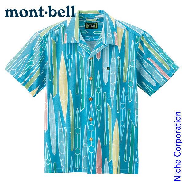 モンベル mont-bell TAKEロハ Men's カヤック #2104477[nocu] アロハシャツ