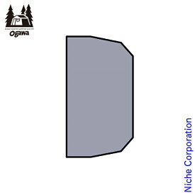 ogawa ( キャンパルジャパン ) PVCマルチシート ティエラワイドII用 1422 アウトドア グランドシート キャンプ オガワ テント 小川テント 小川キャンパル