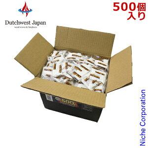 バーナーファイヤースターター 500 [ FS4B ] 着火剤 着火材 薪 薪ストーブ アクセサリー 暖炉 500個入り ファイヤスターター ファイアースターター ファイアスターター ダッチウエスト
