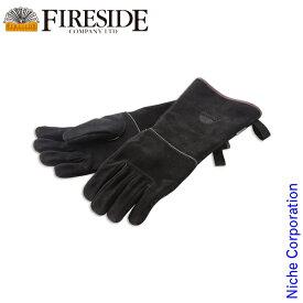 ファイヤーサイド ストーブグローブ ブラック M [ 10015 ] キャンプ用品 焚火 焚き火