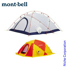 モンベル ジュピタードーム 4型 #1122238 [ モンベル mont bell mont-bell | モンベル テント 山岳テント] キャンプ 用品