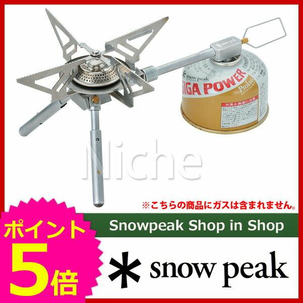 (SNOW PEAK)スノーピーク ヤエン ストーブ レギ [ GS-370 ][P5] 新品未開封
