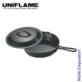 ユニフレーム クッカー スキレット 10インチ キャンプ 鉄 鍋 アウトドア