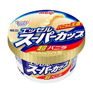 アイスクリーム エッセルスーパーカップ バニラ 200ml 明治 24個入り