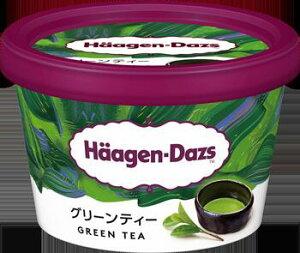 アイスクリーム 【ハーゲンダッツアイスクリーム】 ミニカップ グリーンティ 6個