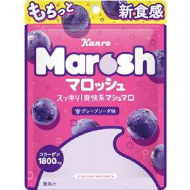 [クリックポスト] カンロ マロッシュ グレープソーダ味 50gx6袋