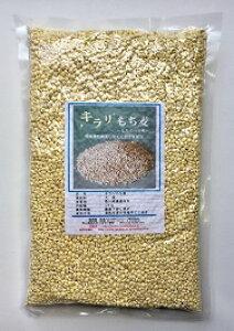 国産もち麦 1kg テレビで話題キラリもち麦 もち麦の新種【宅配便配送】残留農薬ゼロ 水溶性食物繊維が豊富