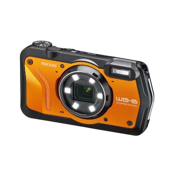 【納得の3年保証付き】[リコー]RICOH WG-6 オレンジ