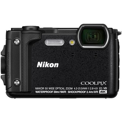 【納得の3年保証付き】[ニコン]COOLPIX W300 BK ブラック