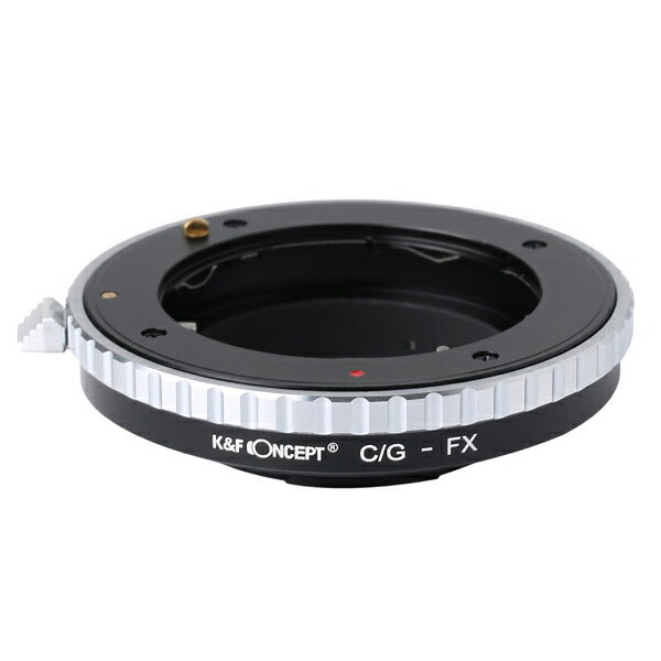 [K&F CONCEPT]KF-CGX レンズマウントアダプター(レンズ側:コンタックスGマウント→カメラ側:フジX)