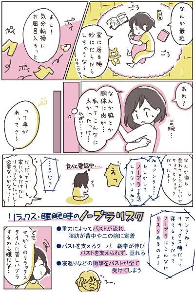 ナイトブラ/ゆめふわブラジャー/漫画1