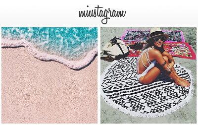 今年の夏、大注目!海外で大人気のラウンドビーチタオル☆(海水浴プールビーチ海レジャーラグタオル)