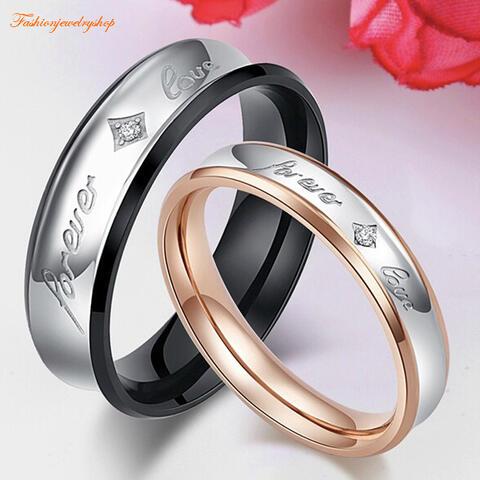 ペアリング サージカルステンレス316L ピンクゴールド ダイヤモンド 金属アレルギー対応 18K ピンクゴールド ステンレス 鍍金 シンプル クローバー ひねり 細身 上品 おしゃれ 指輪 マリッジリング 結婚指輪 2本セット価格