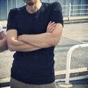 【送料無料】美和縫製 無地Tシャツ 炭黒(黒)/ 1(M)| 日本製 無地 メンズ Tシャツ tシャツ 半袖 8.5オンス 8.5oz 厚手 超厚手 ヘビーウェイトT