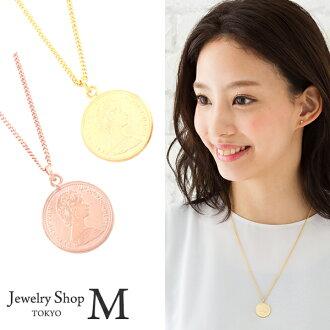 珠寶首飾店 M 原! 英文縮寫 & 伊莉莎白 coimnecklace