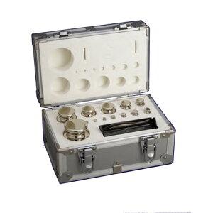 JISマーク付OIML型円筒分銅 F2級(1級) 1kgセット