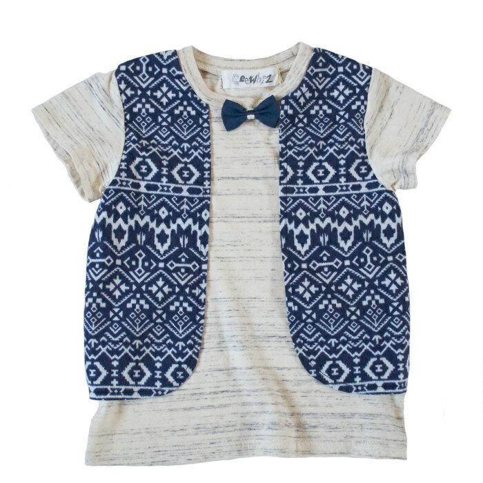 GEEWHIZ ジーウィズ Tシャツ NAVY GW71ATS20