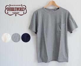 【20%OFF】DUBBLEWORKS ダブルワークス 34005 ポケットTシャツ