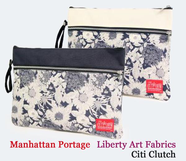 Manhattan Portage マンハッタンポーテージ Liberty Art Fabrics Citi Clutch クラッチバッグ MP1085-LBTY18SS