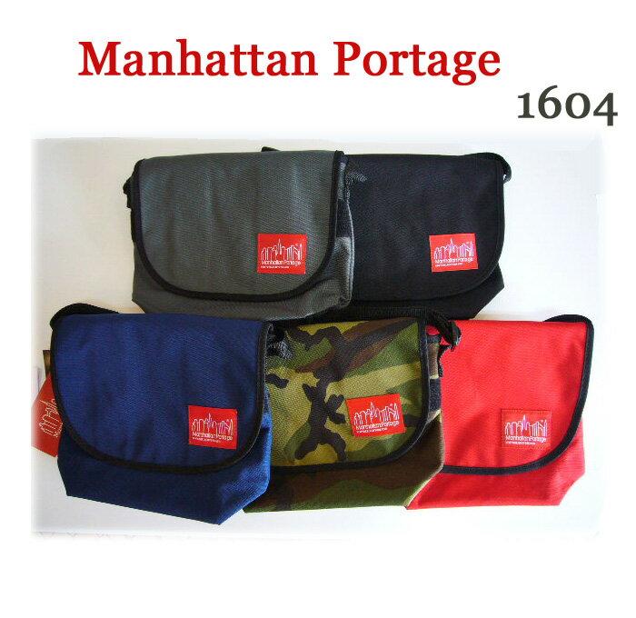 Manhattan Portage マンハッタンポーテージ ナイロン メッセンジャーバッグ 1604