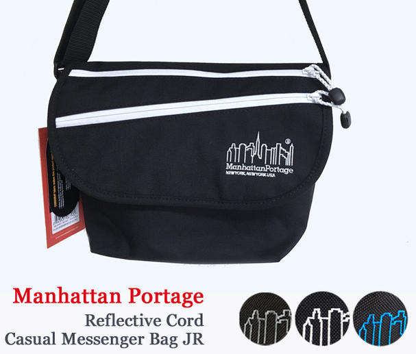 Manhattan Portage マンハッタンポーテージ Reflective Cord Casual Messenger Bag JR メッセンジャーバッグ (Sサイズ)MP1605JRRFC