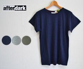 【SALE】【30%OFF】afterdark アフターダーク Short Sleeve Tee Shirts ポケットTシャツ