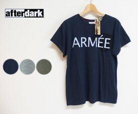 【SALE】【30%OFF】afterdark アフターダーク Short Sleeve Tee Shirts ポケットTシャツ(ARMEE)