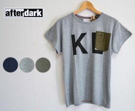 【SALE】【30%OFF】afterdark アフターダーク Short Sleeve Tee Shirts ポケットTシャツ(KL)