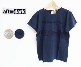 【SALE】【30%OFF】afterdark アフターダーク Short Sleeve Tee Shirts ポケットTシャツ(Stockholms Stad)