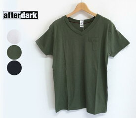 【SALE】【30%OFF】afterdark アフターダーク S/S V-Neck Tee Shirts Vネック Tシャツ