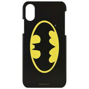 バットマン iPhone X/XS(5.8インチ) 対応 ハードケース ロゴ btm-55a グルマンディーズ 全品送料無料