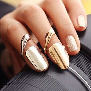 アートネイルリング チップリング ネイル 指先の指輪 爪の指輪 ネイルリング シンプル 一番売れてるネイルリング ファランジリング ミディリング 関節の指輪 フォークリング レディース ゴールド シルバー フリーサイズ ネール 指先の指輪 調整 結婚式 パーティ 定番 金 銀