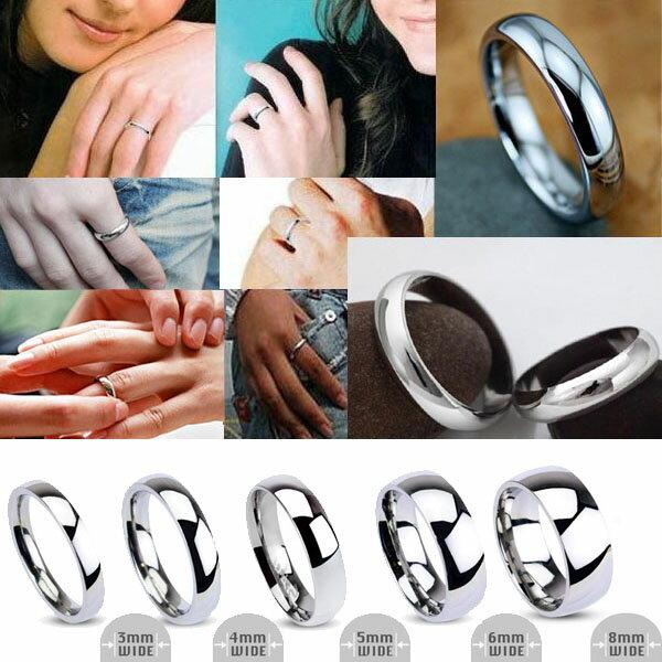 シンプルステンレスリング サイズ/09号/13号/15号/16号/17号/18号/20号/21号/23号/26号/28号/31号 指輪 ペアリング メンズ レディース サージカルステンレス316L 指輪 記念日 結婚 婚約 誕生日 エンゲージ 太い 細い 定番 人気 マリッジ