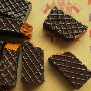 チョコウエハースアクリルパーツ/1個販売 チョコレート 食玩 おもしろ ユニーク 面白い 個性的 アクセサリー ピアス パーツ プラスティック イヤリング 貼り付け マグネットピアス チャーム