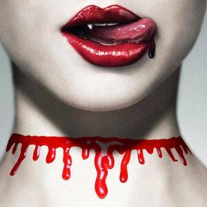 血まみれチョーカー 首飾り ネックレス おもしろ 首切り レディース メンズ コスプレ 首が切れている ハロウィン 面白い ユニーク 赤色 血液 オモシロ ハロウィーン 仮装 変装 コスチューム