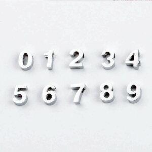 1.8mm穴開き数字ステンレスパーツ 1個販売 ナンバー 数 算数 記念日 ラッキーナンバー ペンダント トップ ネックレス ピアス ブレスレット アクセサリー チャーム DIY メンズ レディース プレ