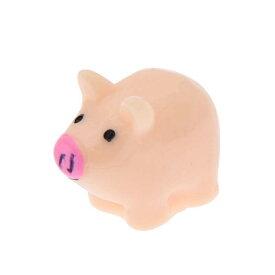 豚アクリルパーツ (20mmx16mm) 1個販売 ぶた 豚 ピッグ 子豚 コブタ アニマル 動物 おもしろ 面白い アクセサリー スマホケース ピアス プラスティック 貼り付け チャーム ネイル 爪 部品 クラフト 手作り ハンドメイド DIY 携帯電話 メンズ レディース 3D リメイク