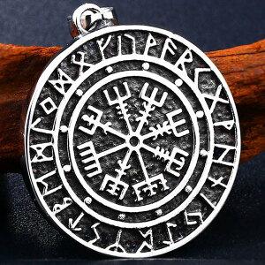 バイキングメダルステンレスペンダントトップ(海洋神) コイン 古いお金 パイレーツ ネックレスパーツ チョーカー メンズ レディース サージカルステンレス316L製 プレゼント ギフト アン