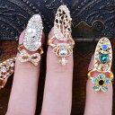 マーメイドネイルリング 1個販売 チップリング ネイル 指先の指輪 爪の指輪 ネールリング 01号 ピンキーリング サイズ…